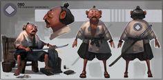 ArtStation - Obo The Legendary Swordsmith, Samuel Youn
