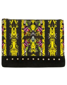 The Stud Clutch by Greedilous - Shop now at portemode.com