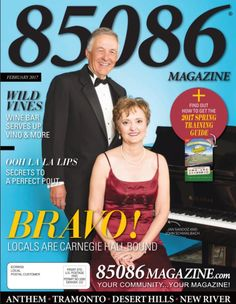 The Feb '17 issue of 85086 Magazine  Produced by The Media Barr, Inc.