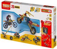 Engino 2520 - Costruzioni, Set 25 Modelli: Amazon.it: Giochi e giocattoli