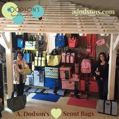 A. Dodson's in Virginia Beach, VA is our twelfth entry into the #scoutbags contest! Post pics of your creative & fun bag display for a chance to win a $250 CREDIT for your store! *Deadline 9/26