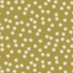 Hawthorne Threads - Cottontail - Dandelion Dot in Gold