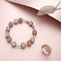 Pandora Rose bracelet & ring
