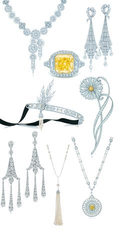 101 Best The Great Gatsby Jewelry Images Gatsby The