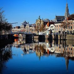 Haarlem - Spaarne (was het deze brug waar ok hoogtevrees opgelopen heb?)