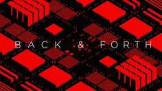 Back & Forth – Super sick music video done with pure isometric animation by Porthé French Dj, Trippy Gif, Design Art, Graphic Design, Motion Design, Motion Graphics, Art Direction, Behind The Scenes, Music Videos