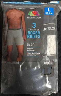 Hanes Men/'s 3-Pack Ultimate X-Temp Boxer Briefs Tagless   #2