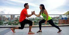 Baila Zumba Fitness: ZUMBA EN PAREJA. QUEDATE EN CASA con esta rutina d... Cardio, Zumba Fitness, Running, Sports, Home, Dancing, Zumba Routines, Songs, Couples