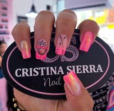 Neon Nails, Dope Nails, Nails On Fleek, Nail Spa, Manicure And Pedicure, Stiletto Nail Art, Acrylic Nails, Gorgeous Nails, Pretty Nails