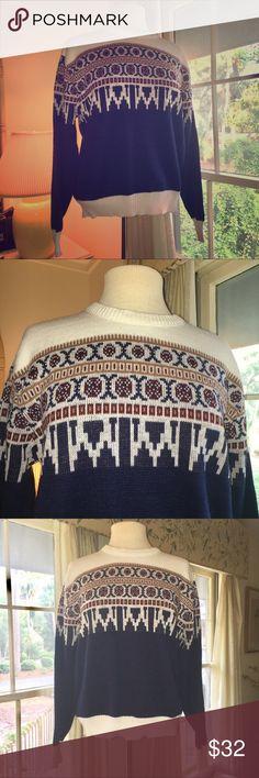 Vintage Montgomery Ward Sweater Vintage Montgomery Ward sweater in 100% acrylic. Vintage Sweaters Crewneck