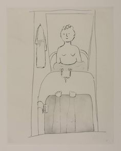 Louise Bourgeois - Woman in Bathtub