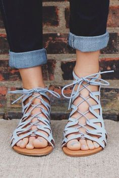 6141641d8f8 pinterest •  liza0m Blue Sandals