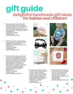 A little collection of handmade Christmas gift ideas I was lucky to be apart of, featuring my 'Snail Mail' Mailbox Set (page 2 - no.8).  #interactive #etsy #etsyau #etsyshop #etsysellers #shophandmade #handmade #pretendplay #imaginaryplay #handmadehqaus #handmaidens #sewing #kids #imagine #handmadebusiness #craftaustraliakids #handmadetoys #roomdecor #buyhandmade #lovehandmade #kidstoys #craftaustralia #finemotorskills #educational #giftguide #kidsmailbox #letters #stamps #mailboxforkids