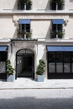 Hotel Bachaumont in Paris designed by Dorothee Meilichzon   Remodelista