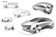2030 Hatchback Concept Vehicle for Generation Z (20-28).Autonomous Vehicle for them, which can get their own world inside of car.