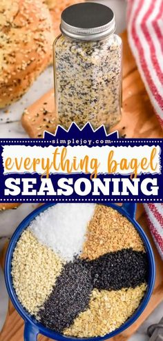 This condiment is spot on! Once you try this Everything Bagel Seasoning recipe at home, you'll be saying goodbye to store-bought. Check out the many ways to use it, from appetizer recipes to dips for… Appetizer Recipes, Appetizers, Salad Recipes, Dessert Recipes, Desserts, Seasoning Mixes, Seasoning Recipe, Everything Bagel, Dips