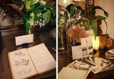 Chateau Bellevue Winter Wedding // Unique Wedding Guestbook // Science Wedding // The Nouveau Romantics // Austin Wedding Planning and Event Design Studio