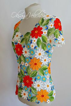 Crochet Fabric, Freeform Crochet, Crochet Art, Love Crochet, Irish Crochet, Aran Knitting Patterns, Crochet Patterns, Caleb Y Sophia, Irish Lace