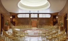 Eltham Palace is full of art deco pieces. This wedding venue is near Eltham, Greater London.