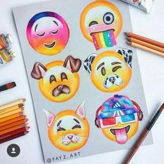 Emoji Drawing: From My babe App Drawings, Emoji Drawings, Cute Disney Drawings, Kawaii Drawings, Amazing Drawings, Cool Art Drawings, Beautiful Drawings, Art Sketches, Emoji Wallpaper