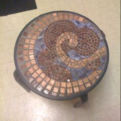 Colors and Simple design Mosaic table