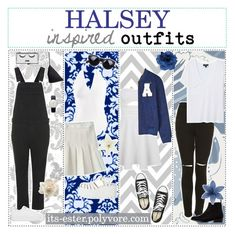 """""""❀ Halsey inspired outfits"""" by its-ester ❤ liked on Polyvore featuring Topshop, adidas Originals, H&M, Miss Selfridge, Cole & Son, The Ragged Priest, MANGO, Maison Scotch, Converse and Opening Ceremony"""