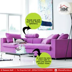 A level up, let your sofa be they the highlight of your home décor!   #iHome #Furniture #Sofa #ArtisticLiving #Pune
