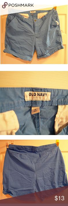 OLD NAVY Blue Shorts Blue shorts from old navy. Comes a little above the knee. Old Navy Shorts