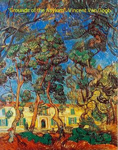 Grounds of the Asylum Vincent Van Gogh