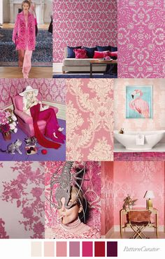 Pattern Curator color, print pattern trends, concepts, insights and inspiration Colour Pallette, Colour Schemes, Color Trends, Color Patterns, Design Trends, Print Patterns, Color Combinations, Fashion Themes, Fashion Design