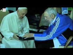 """""""Visita de cortesía"""" del Papa a Fidel Castro"""