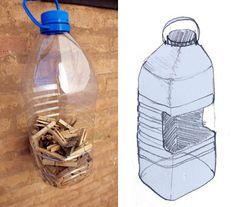 zu ändern: www.elhadadepapel.com: botella PET / PET-Flasche / PET Flasche