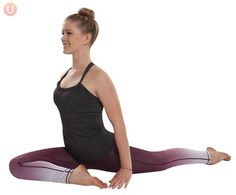 These 6 yoga poses will open tight hips and bring your body sweet relief! #workout