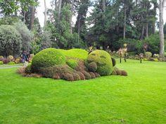 ourson, claude ponti, jardin plantes, bullelodie http://www.bullelodie.com/2014/08/van-2014-le-jardin-des-plantes-de.html
