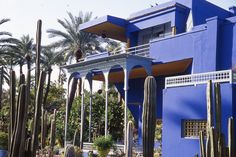 The Jardin Majorelle in Gueliz, is really beautiful. The gardens were built by Jacques Majorelle, a French orientalist painter in the 1920's. His blue villa is now a museum of Islamic art.  The gardens and fountains are really lovely.  #globalphile #travel #tips #destination #adventure #morocco #lonelyplanet http://globalphile.com/city/marrakesh-morocco/