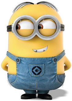 """Lifesize Cardboard Cutout of """"Dave"""" from Minions Movie! #minions #minionsmovie #despicableme #kidsparty"""