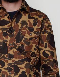 Rogue Territory Drake Camo Work Shirt
