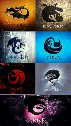HTTYD - Dragon Classification by AtraVerum.deviantart.com on @DeviantArt
