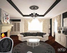 Каминный зал: интерьер, квартира, дом, гостиная, гламур, 30 - 50 м2 #interiordesign #apartment #house #livingroom #lounge #drawingroom #parlor #salon #keepingroom #sittingroom #receptionroom #parlour #glamour #30_50m2
