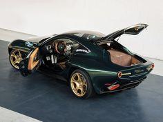 Touring's Breathtaking Alfa Disco Volante Wears Green and Gold for Geneva