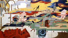 """Dogtown"" by Tony Berlant"
