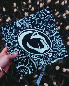 Penn State Graduation Cap DIY