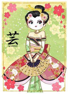 Geisha by neilabbott