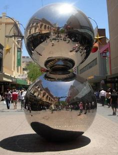 The Malls Balls. Rundle Mall, Adelaide city • Adelaide's icons