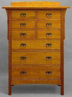 Dressers, Bureaus, cabinets, bookshelves, and larger casework on ...