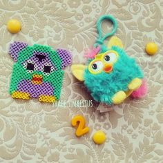 Furby hama beads by  shade.s.maestus