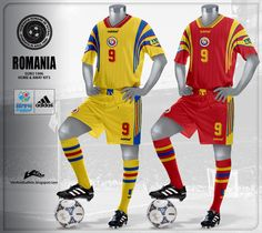 Romania+Home+and+Away+Kits+Euro+1996.jpg (955×851)