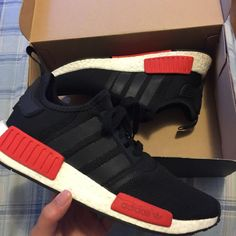 """First pair of Boosts came in Adidas NMD R1 """"Breds"""""""