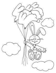 Bunny Balloon Flight
