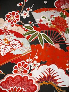 vintage kimono More